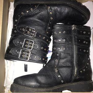 Zara girl Leather boots